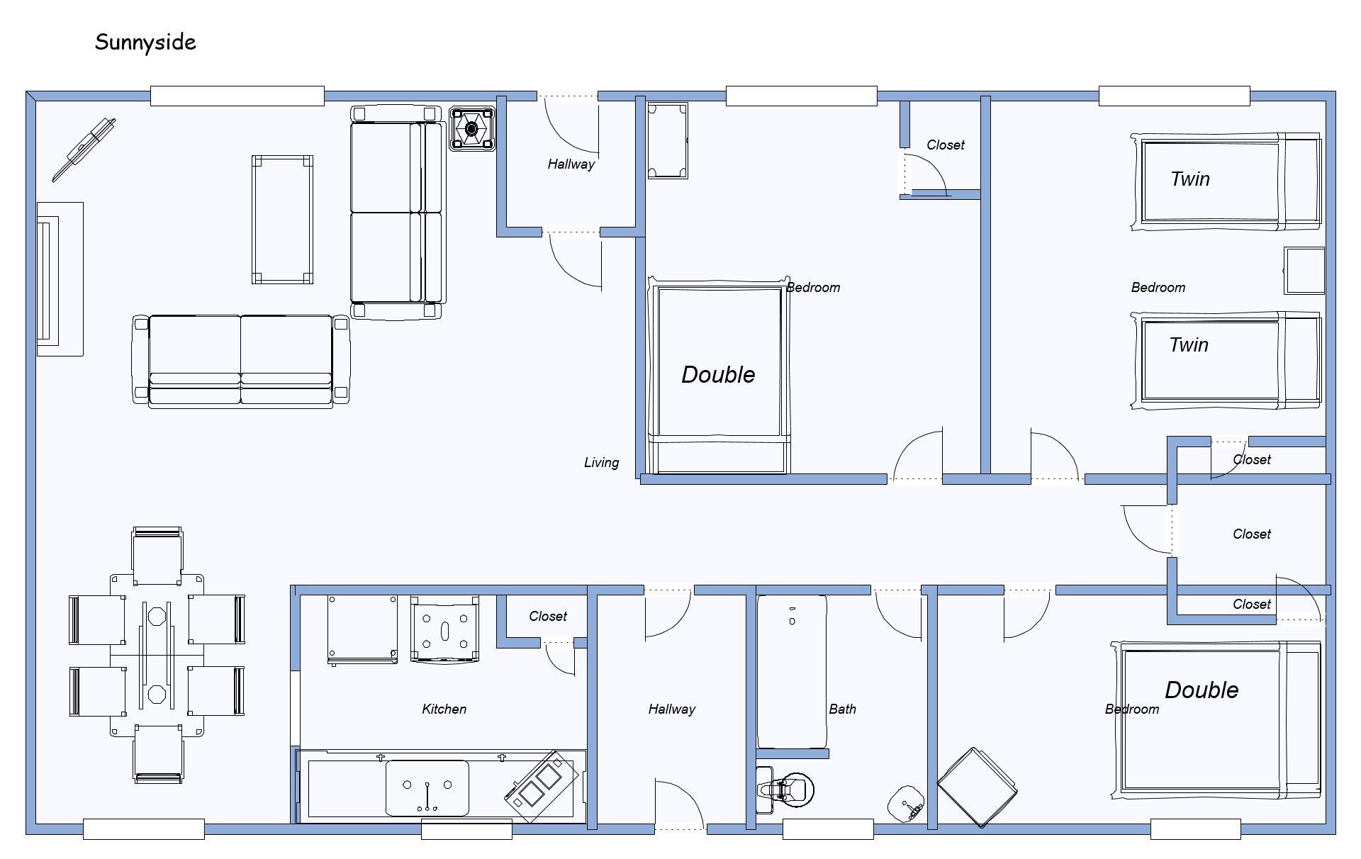 layout of Sunnyside 14