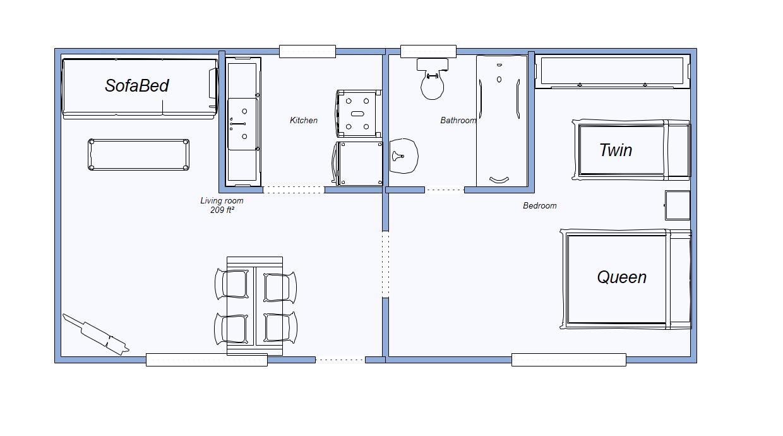 layout of Birchgrove 11